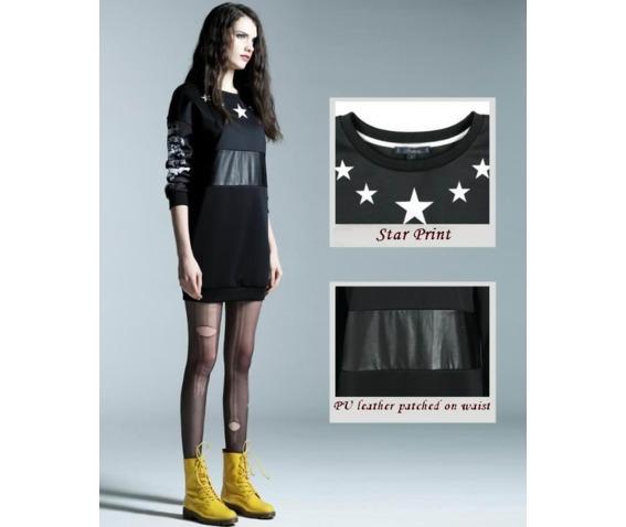 patch_work_pu_waist_star_print_black_short_dress_dresses_6.PNG