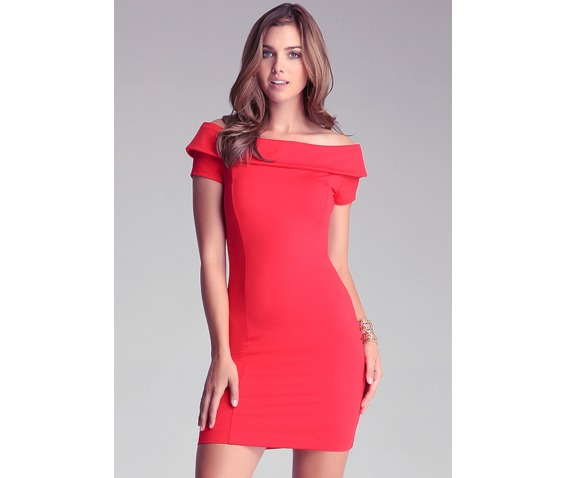 sexy_slim_fit_short_sleeves_red_short_dress_dresses_7.PNG