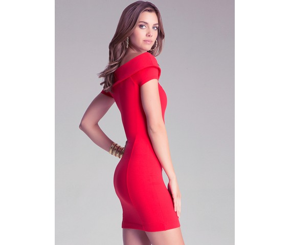 sexy_slim_fit_short_sleeves_red_short_dress_dresses_6.PNG