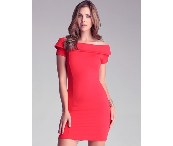sexy_slim_fit_short_sleeves_red_short_dress_dresses_5.PNG