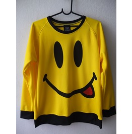 Happy Face Smiley Wave Punk Rock T Shirt Sweater