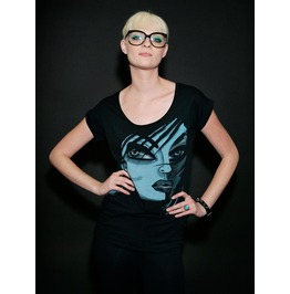Iron Fist Clothing Private Eye Women's Black Zipper Back Fashion Tee
