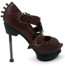 Hades Shoes Sky Captain Steampunk Platforms