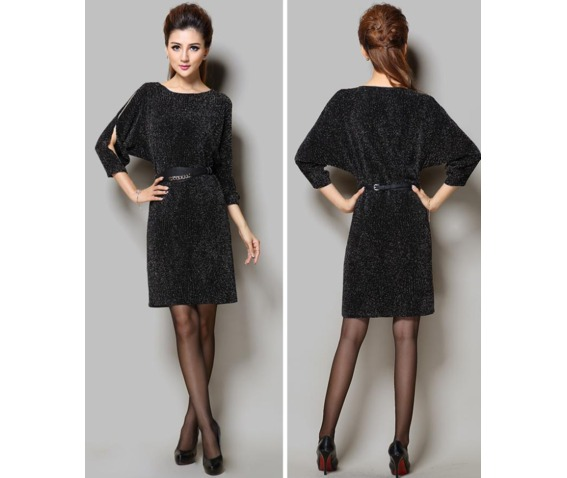 stylish_cut_out_sleeves_short_dress_dresses_5.PNG
