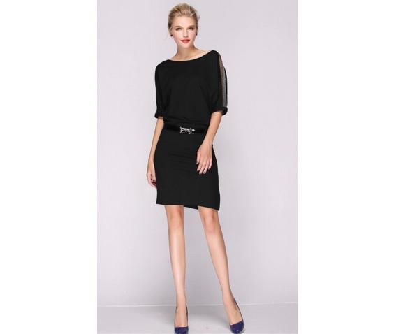 stylish_gauze_sleeves_short_dress_dresses_10.PNG