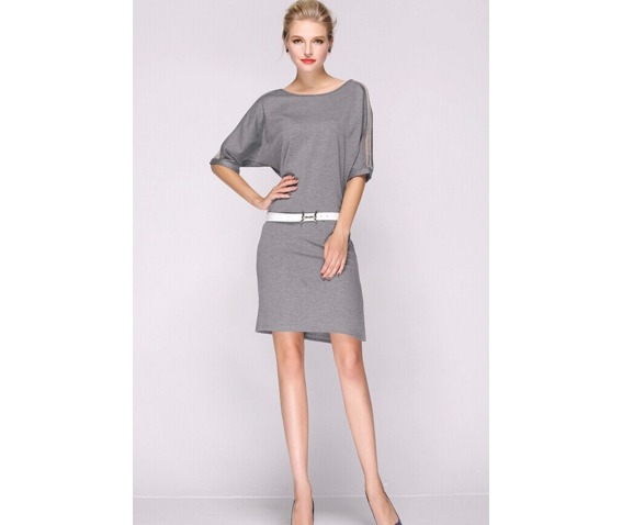 stylish_gauze_sleeves_short_dress_dresses_5.PNG