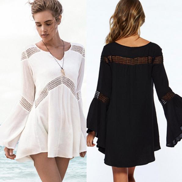 Crochet pattern casual beach wear v1 dresses 4