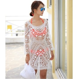 Crochet Pattern Casual Beach Wear V9