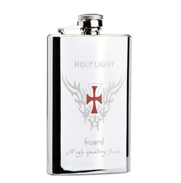 Cross Stainless Steel Hip Flask S043