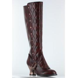 Hades Shoes Victoriana Women's Burgundy Booties