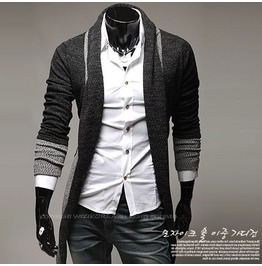 Charcoal Assassin Creed Style Cardigan