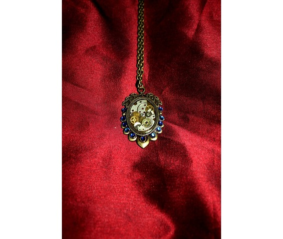 free_another_item_steampunk_mechanical_watch_part_swarovski_crystalled_cameo_frame_setting_pendants_6.jpg