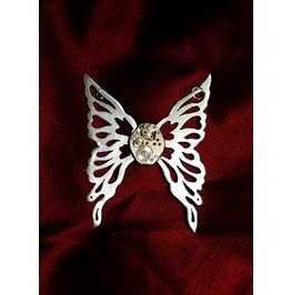 Another Item Mechanical Steampunk Fairy Butterfy Pendant