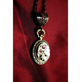 Another Item Steampunk Mechanical Pocket Watch Pendant
