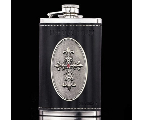 cross_leather_stainless_hip_flask_s048_water_bottles_2.jpg