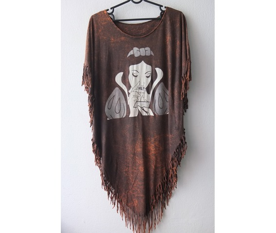 the_snow_queen_new_wave_punk_hippie_batwing_tussle_fringes_stone_wash_poncho_dress_style_dresses_4.jpg