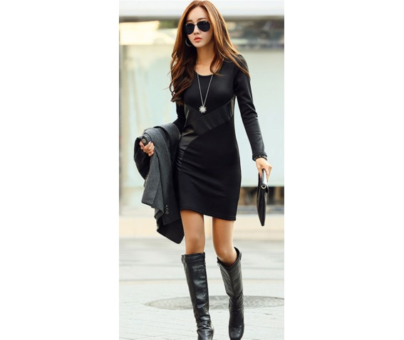 slim_fit_patched_work_pu_leather_short_dress_dresses_10.PNG