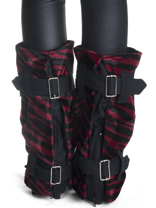 red_black_zebra_faux_fur_boot_covers_made_italy_spats_and_leg_warmers_4.jpg