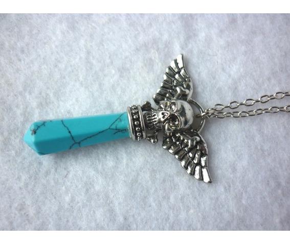 the_turquoise_pendulum_strigoi_necklace_ii_pagan_wicca_dark_mori_skull_wings_mystic_reiki_chakra_necklaces_3.JPG