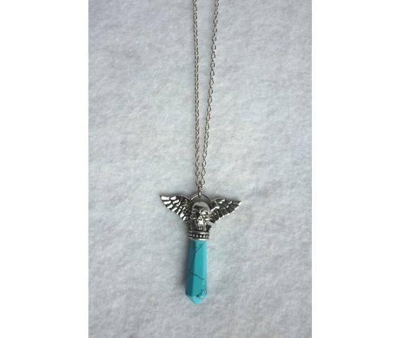 the_turquoise_pendulum_strigoi_necklace_ii_pagan_wicca_dark_mori_skull_wings_mystic_reiki_chakra_necklaces_5.JPG