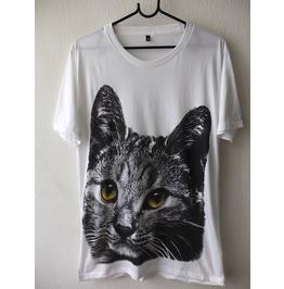 Cat Animal Cool Print Fashion Pop Rock Funky Indie T Shirt M