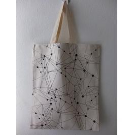 Bag Fashion 2 Side Print Funky Pop Rock Canvas Tote Bag