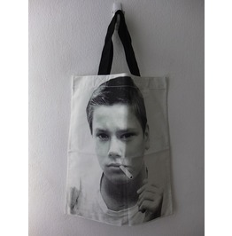 River Phoenix Wave Canvas Tote Bag
