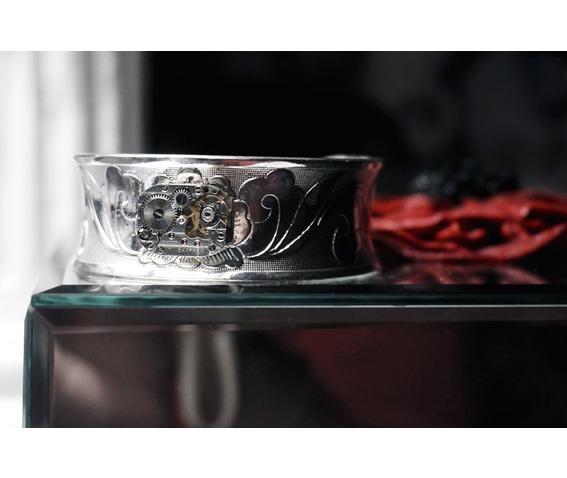 steampunk_bdsm_jewelry_cuff_bracelet_soviet_watch_birthday_wedding_gift_bracelets_4.JPG