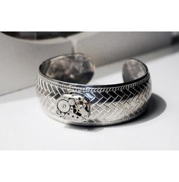Steampunk Bdsm Jewelry Cuff Bracelet Soviet Watch Birthday Gift Man Woman