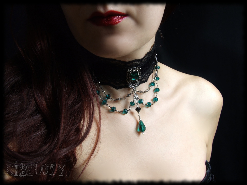 gothic_emerald_choker_vampire_necklace_accessories_cosplay_party_black_wedding_necklaces_2.JPG