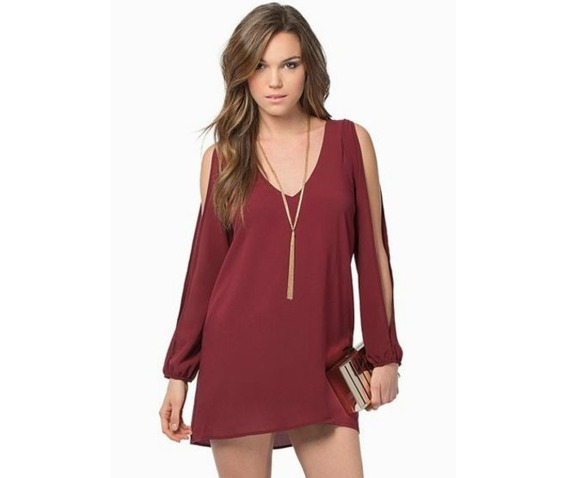 sexy_deep_neckline_slit_long_sleeves_dress_dresses_5.PNG