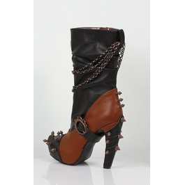 Hades Shoes Women's Faline Brick Booties