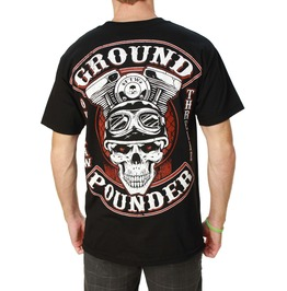 Ground Pounder Black Mens Tee