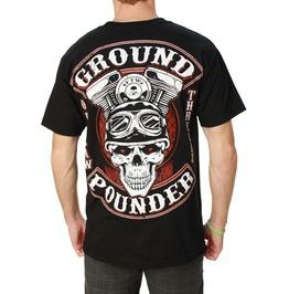 Ground Pounder Black Mens Tee