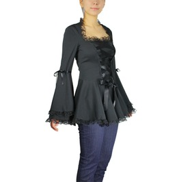 La Belleza Old School Style Gothic Women's Shirt Regular & Plus 50430 Cs