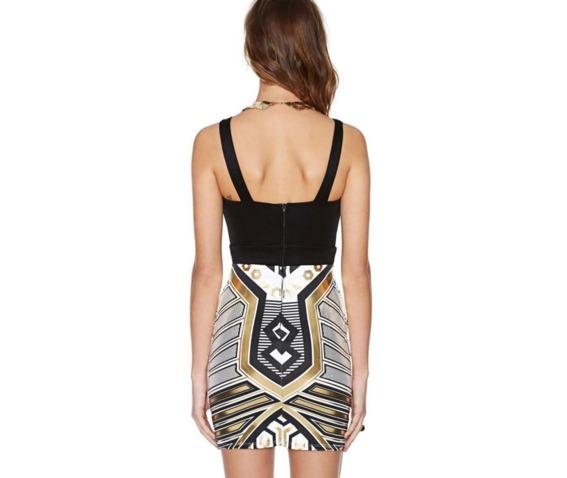 sexy_black_top_metallic_pattern_slim_fit_short_dress_dresses_5.PNG