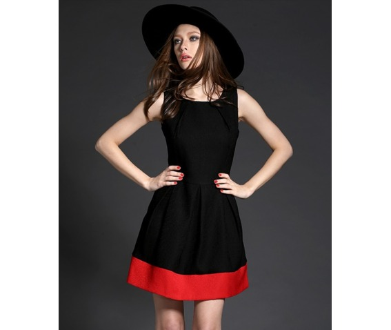 black_red_sleeveless_short_dress_dresses_6.PNG