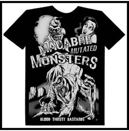 Zombie Monsters Men's Maniacs Mars B Movie T Shirt