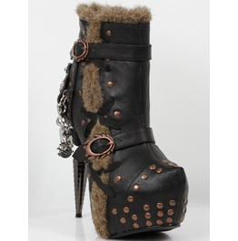 Hades Shoes Women's Griffin Steampunk Booties