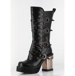Hades Shoes Black Harajuku Steampunk Boots