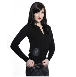 Toxico Clothing Women's Ouija Board Tattoo Cardigan
