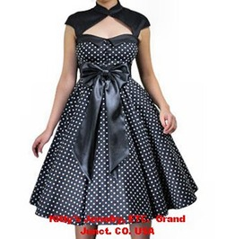 Archaize Polka Dot Dress Standard & Plus Sizes Available 37818 Cs