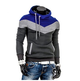 Men's Multi Colored Casual Hoodies