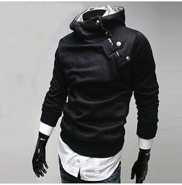 Men's 5 Colors Slim Fit High Neck Sweatshirt