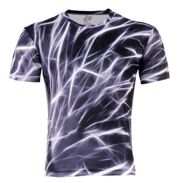 Men's 3 D Lightning T Shirt