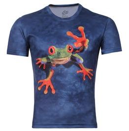 Men's 3 D Frog Print T Shirt