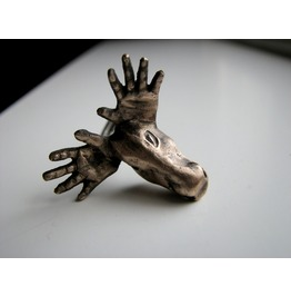 Moose Head Ring Surreal