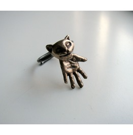 Animal Totem Cat Ring