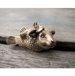 Cow Fish Pendant