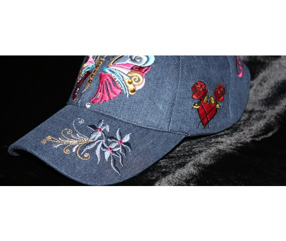 girls_baseball_cap_butterfly_glam_rock_urban_wear_blue_jean_hats_and_caps_6.jpg